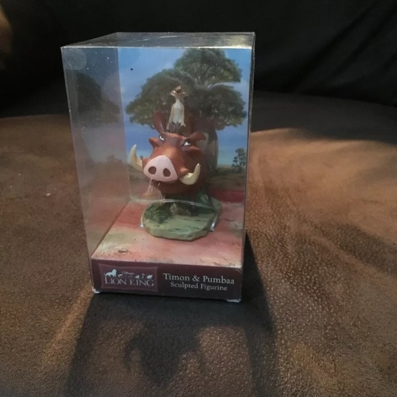 The Lion King: Timon & Pumbaa Sculpted Figurine